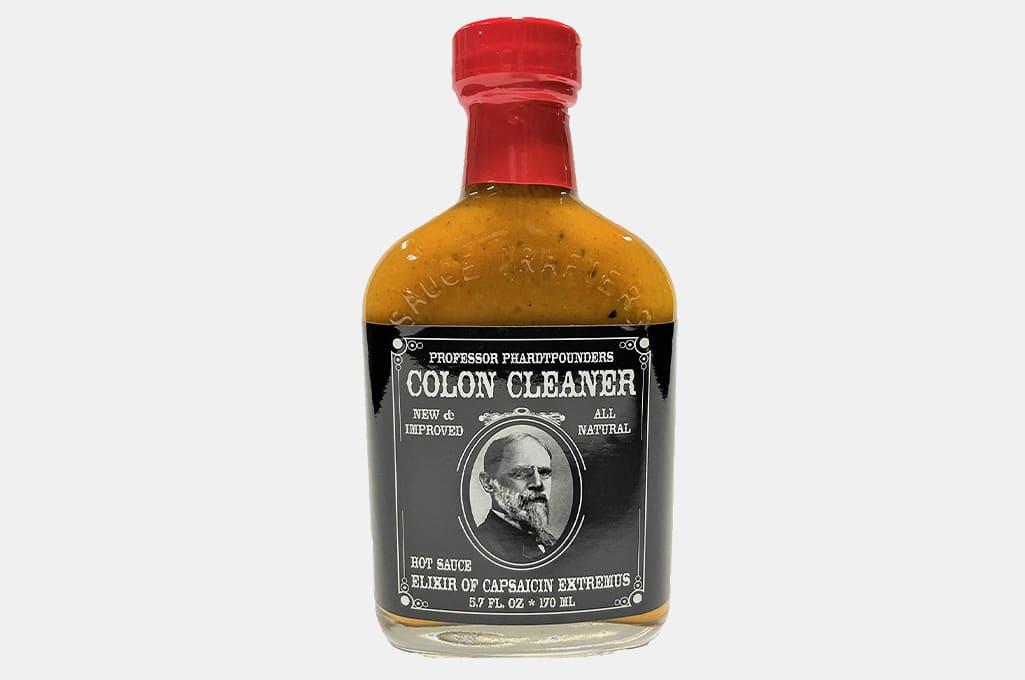Professor Phardtpounders Colon Cleaner Hot Sauce