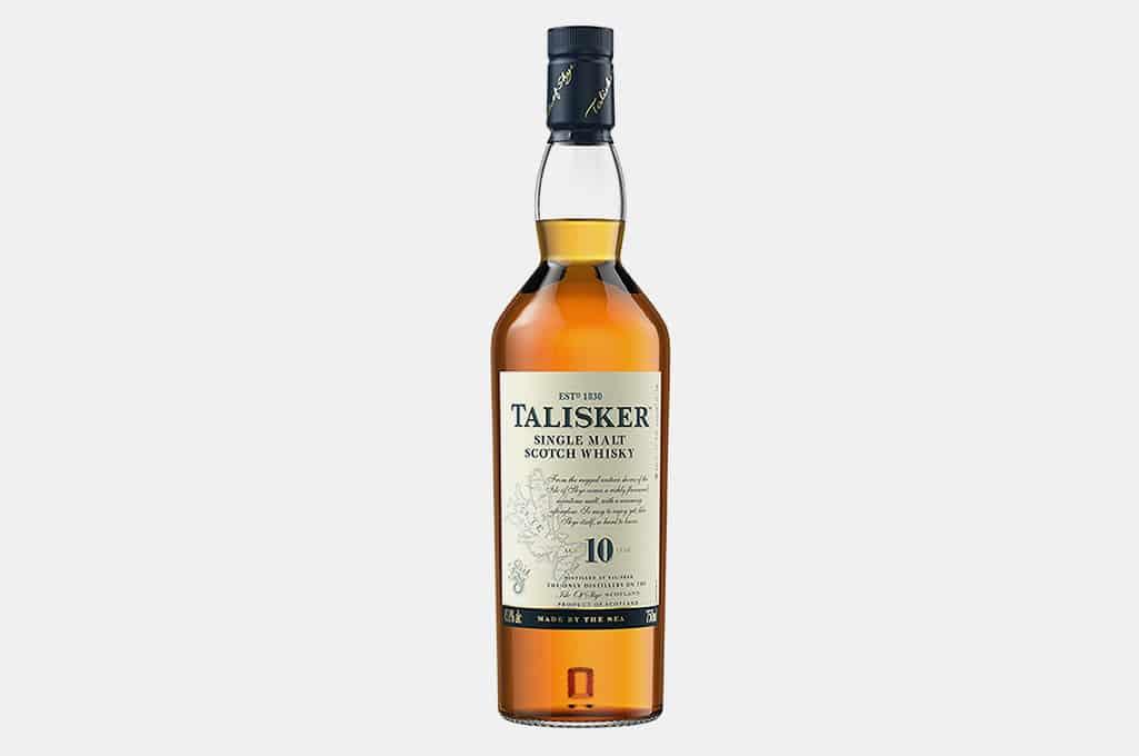 Talisker 10 Year Old Single Malt Scotch