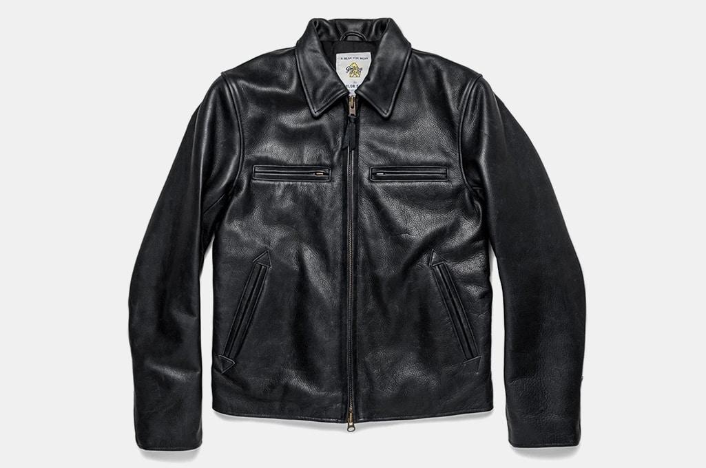 Taylor Stitch Moto Leather jacket