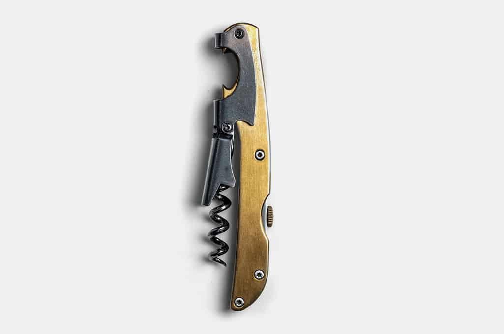Taylor Stitch Wine Key Corkscrew