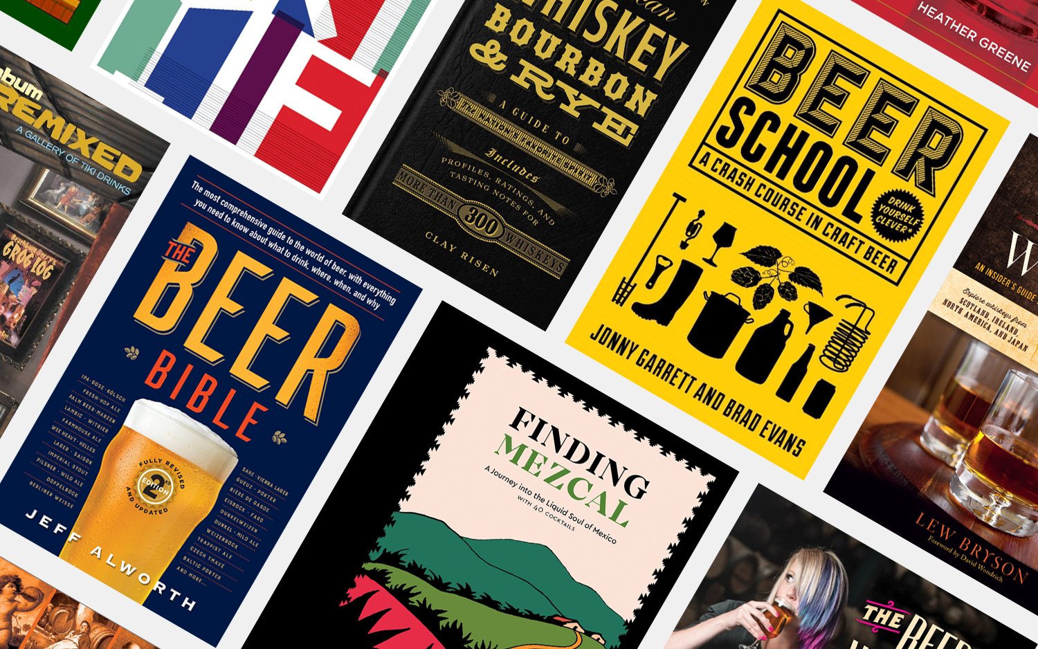 The 15 Best Books About Alcohol
