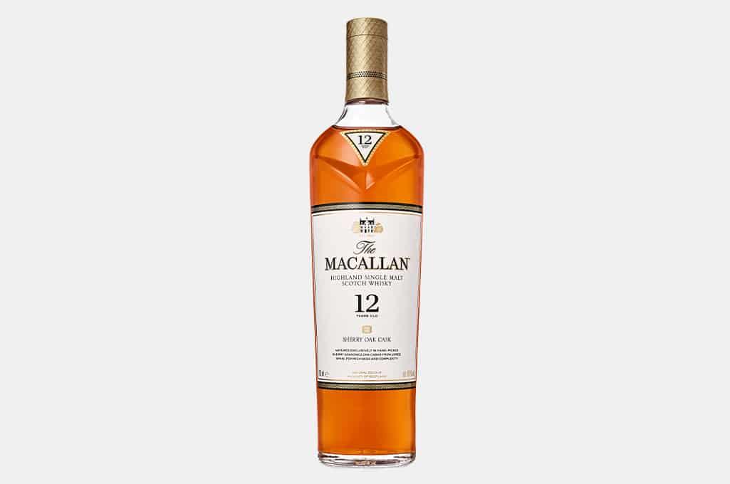 The Macallan Sherry Oak 12 Year Old Scotch