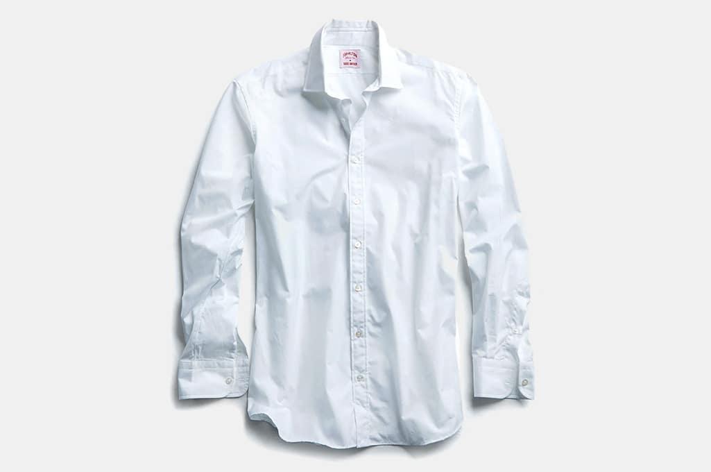 Todd Snyder White Dress Shirt