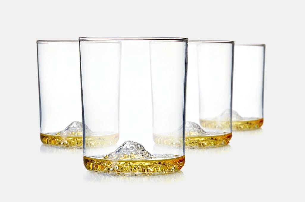Whiskey Peaks American Mountains Whiskey Glasses