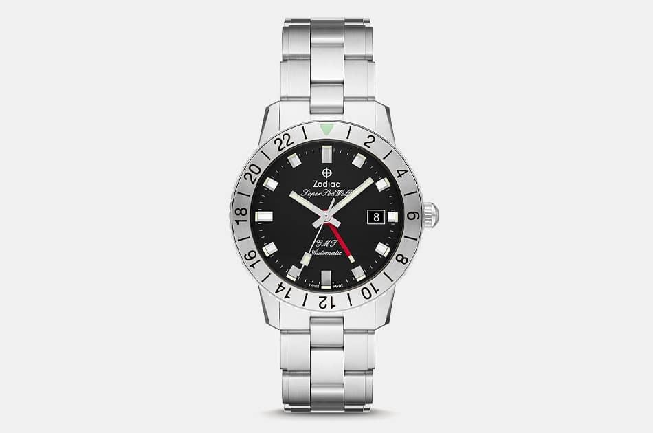 Zodiac Super Sea Wolf GMT Automatic