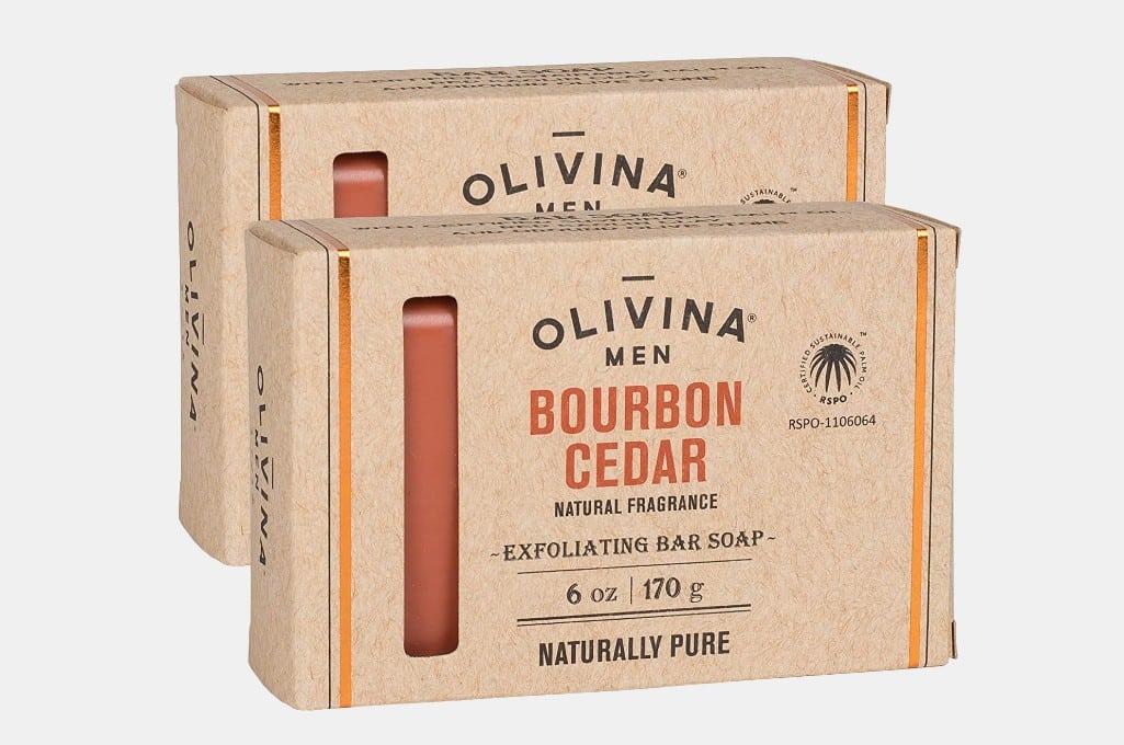 Olivina Men Exfoliating Bar Soap