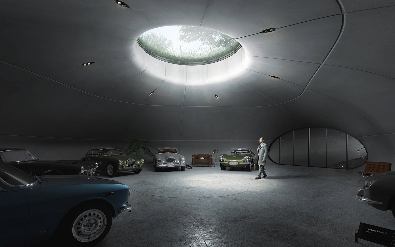 Subterranean Car Showroom