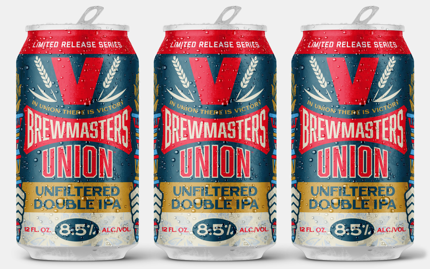 Victory Brewmasters Union Unfiltered Double IPA