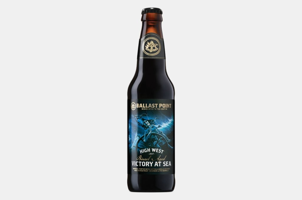 Ballast Point High West Barrel Aged Victory At Sea Imperial Porter