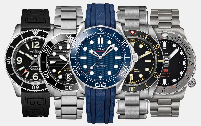 The 12 Best Dive Watches Under $5,000