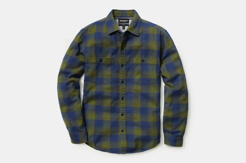 Bonobos Stretch Flannel Shirt