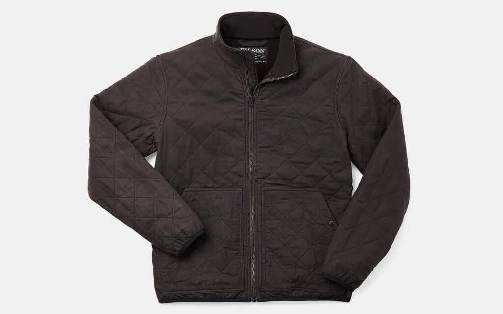 Filson Fleece-Lined Waxed Jacket