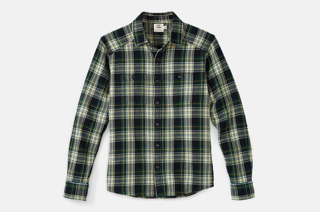 Flint and Tinder Brad Leone Crossback Flannel Workshirt