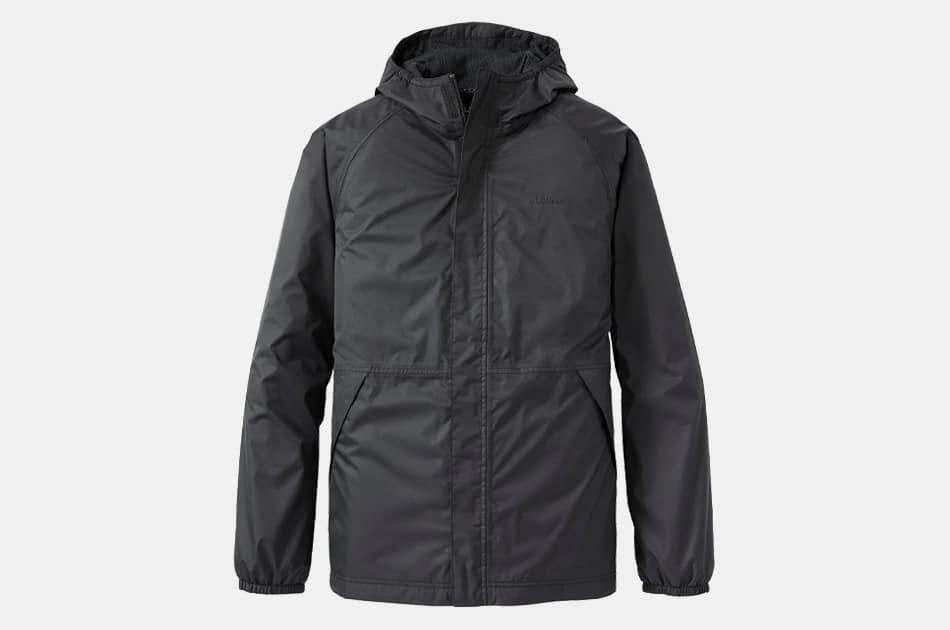 L.L. Bean Men's Waterproof Windbreaker Jacket