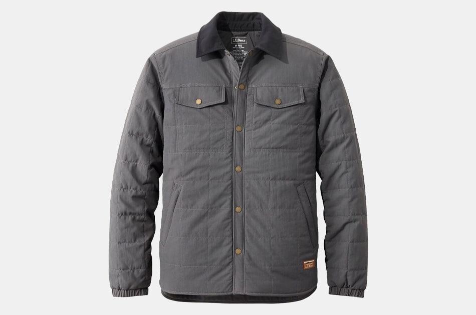 L.L.Bean Men's Insulated Utility Shirt Jacket