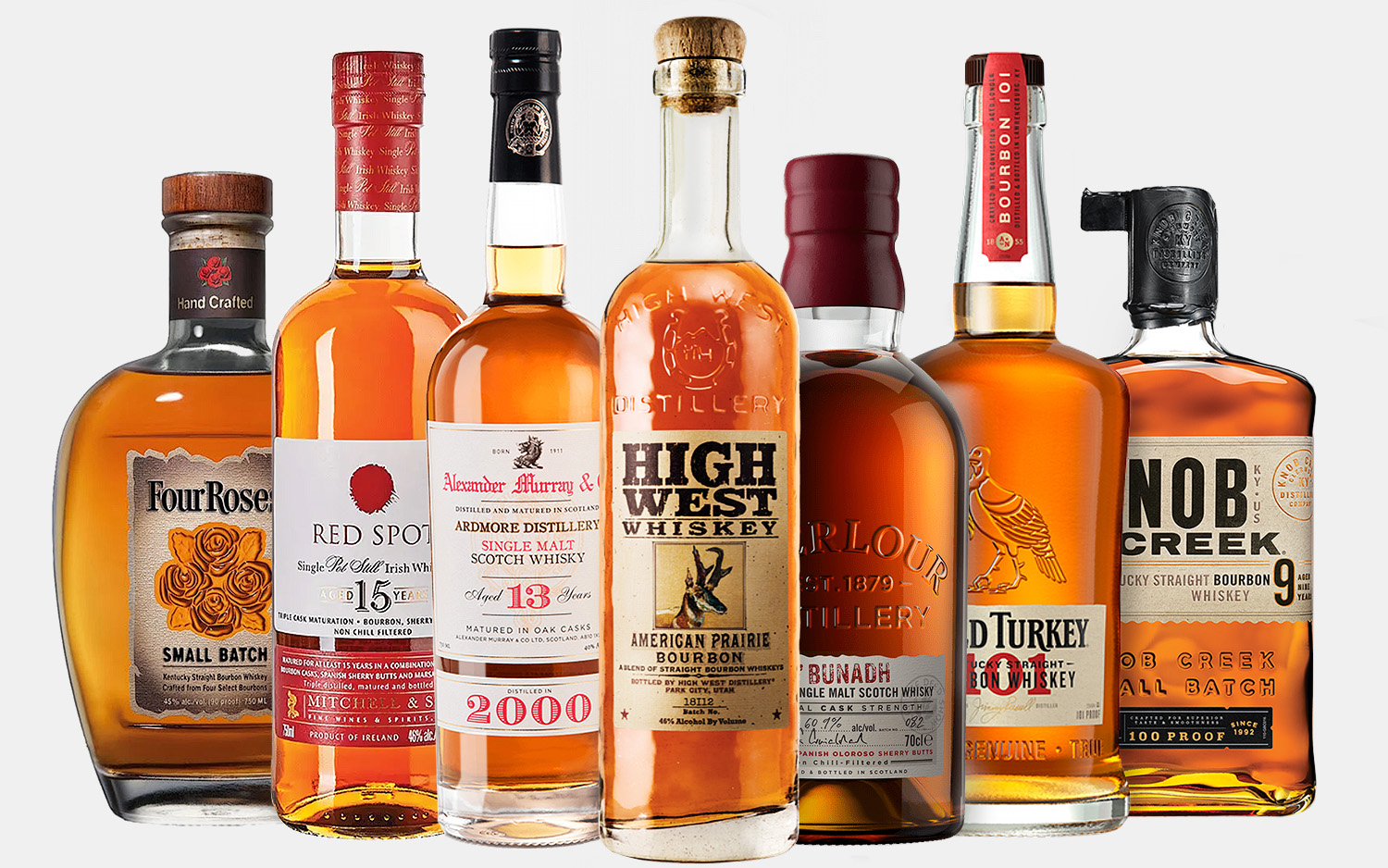 Our Favorite Whiskeys for National Bourbon Month