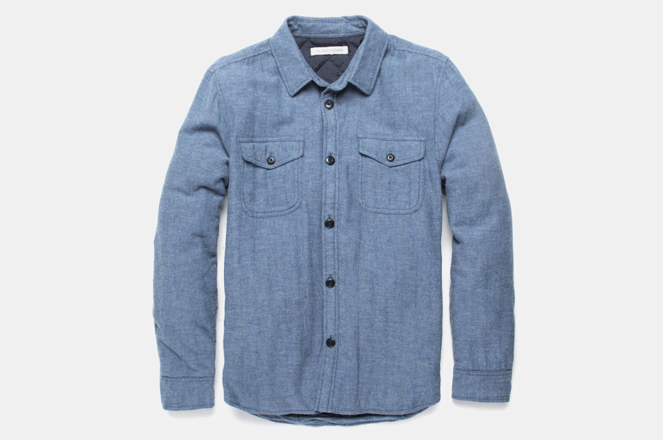 Outerknown Transitional Flannel Shirt Jacket