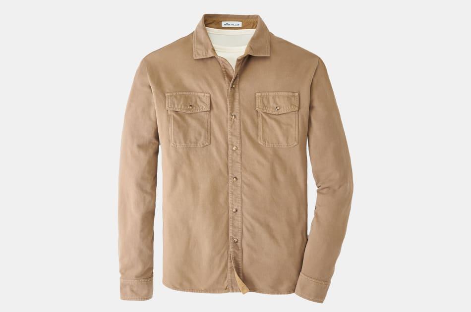 Peter Millar Lava Wash Shirt Jacket