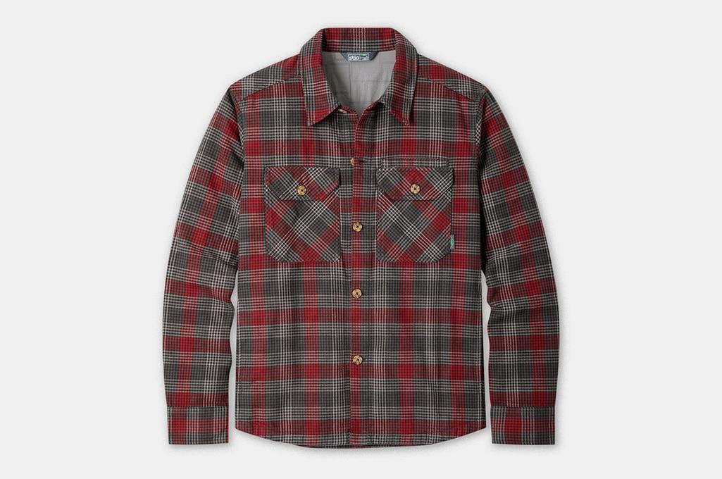 Stio Men's Hutkeeper Flannel Shirt