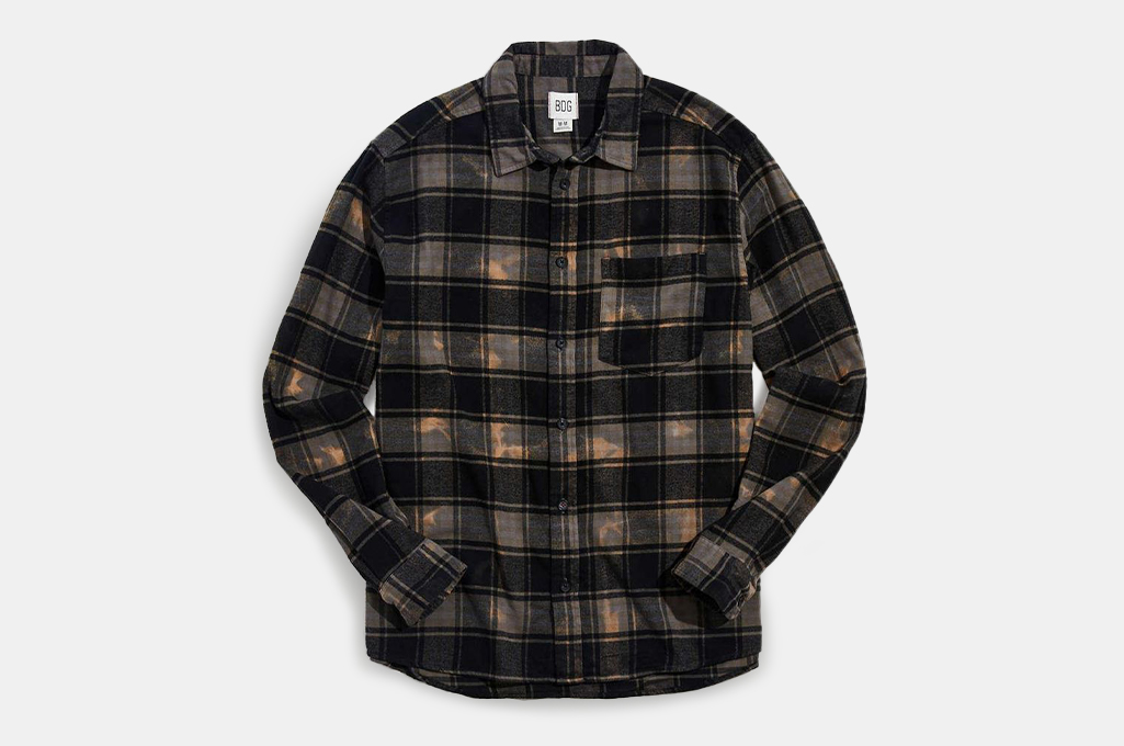 Urban Outfitters BDG Vintage Wash Flannel Shirt