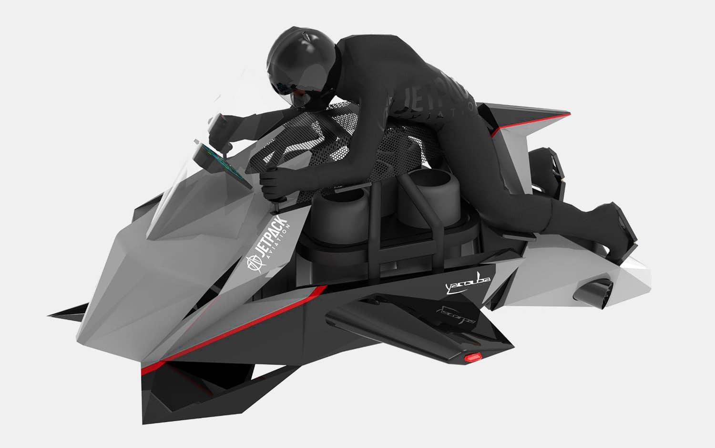 Jetpack Speeder Flying Motorcycle