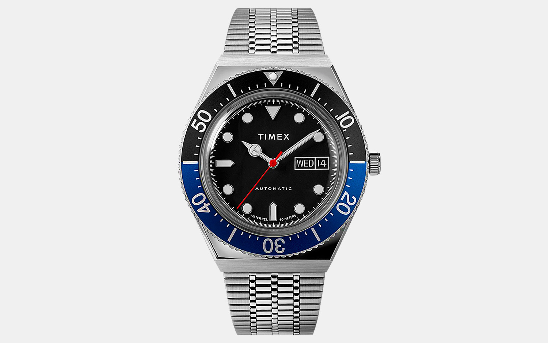 Timex M79 Automatic Batman Watch