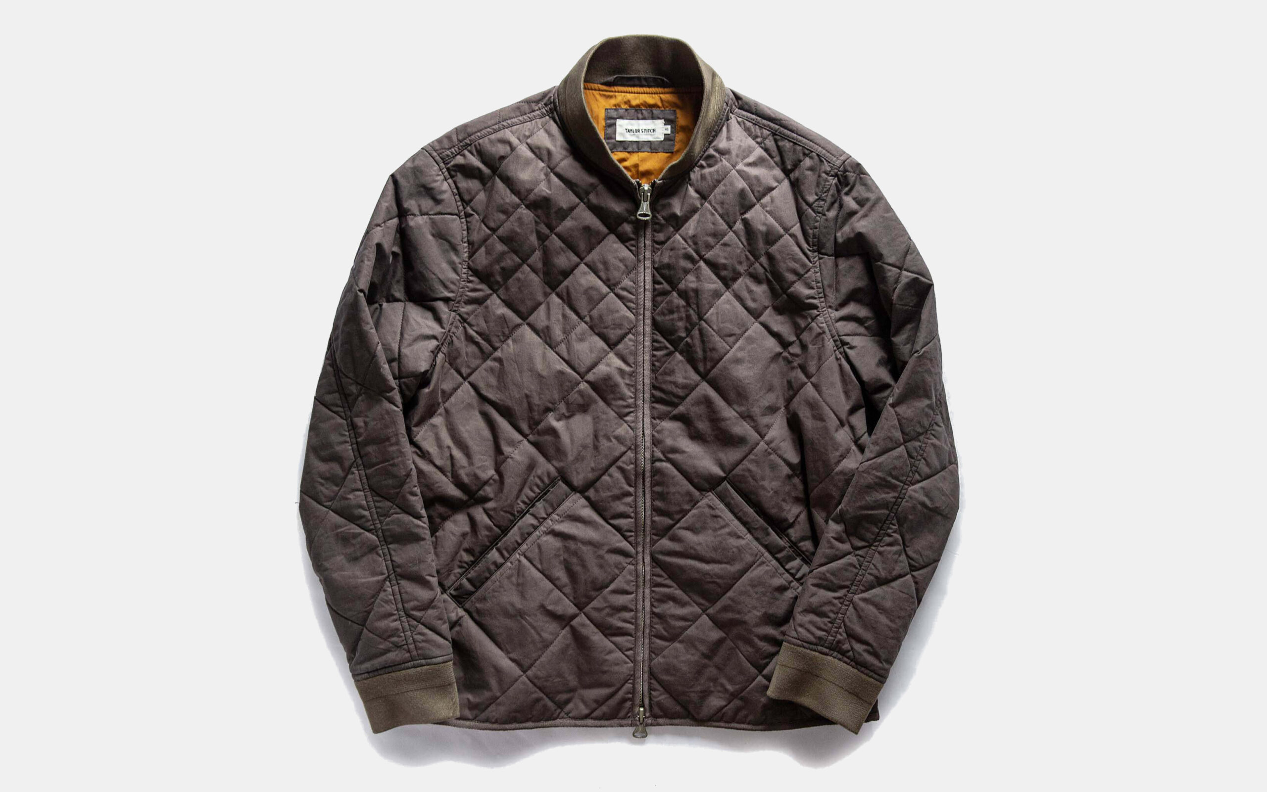 Taylor Stitch Quilted Bomber Jacket